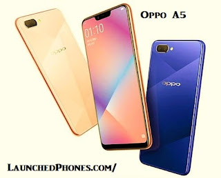 This novel Oppo outcry is launched at the toll of  Oppo A5 2018 launched inwards PRC amongst notch