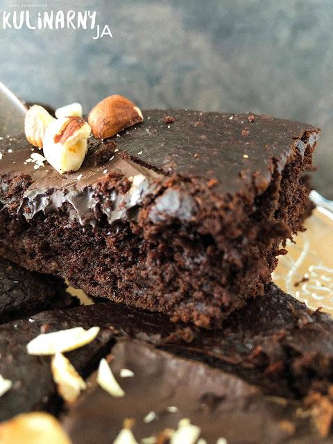 Wegańskie brownie bez cukru