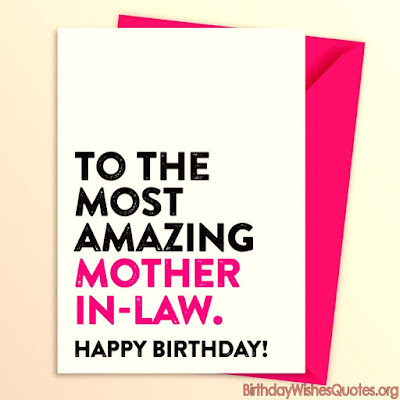 Happy Birthday To Mother In Law