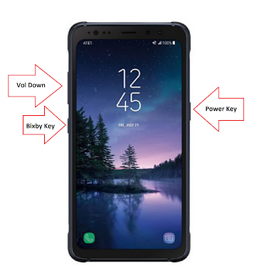 How to Reset Samsung Galaxy S8 Active