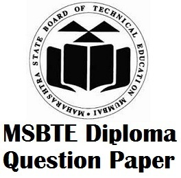 MSBTE Diploma Sample Question Paper @ www.msbte.com