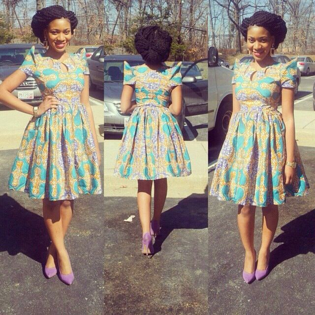 Ankara Dress and Short Dress Styles