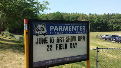 Parmenter art show on June 10 at 5:00 PM