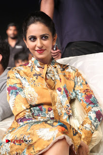 Actress Rakul Preet Singh Stills in Short Dress at Dhruva Pre Release Function  0090.JPG