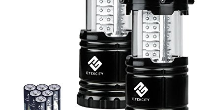 66% Off - Etekcity 2 Pack Portable Outdoor LED