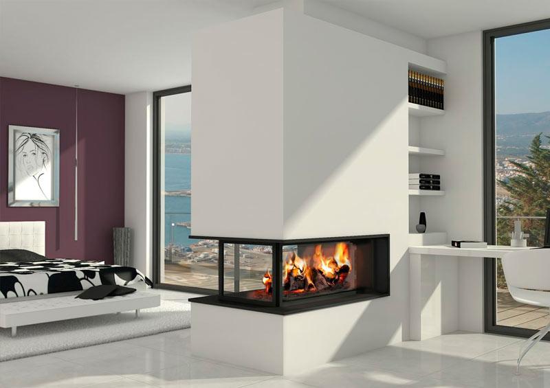 Casas modulares y prefabricadas de diseño: Chimeneas de diseño para ...