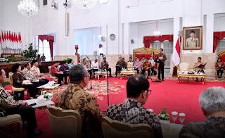 Jokowi Minta Seluruh Jajarannya Fokus Bekerja