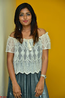 Eesha in a cute deep neck top and Skirt at at Big FM 003.JPG