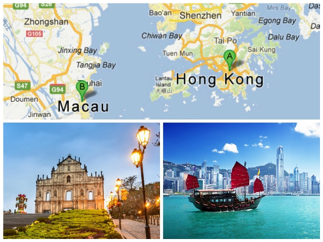 Como ir de Hong Kong a Macao en ferry