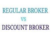 regular broker vs discount broker in Hindi
