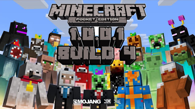 Minecraft Pocket Edition 1.0.0.1 Buld 4 - Apk Full