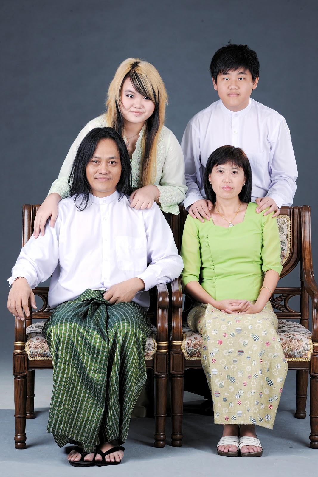 dailyruffles: Lay Phyu Family Photos Leaked!
