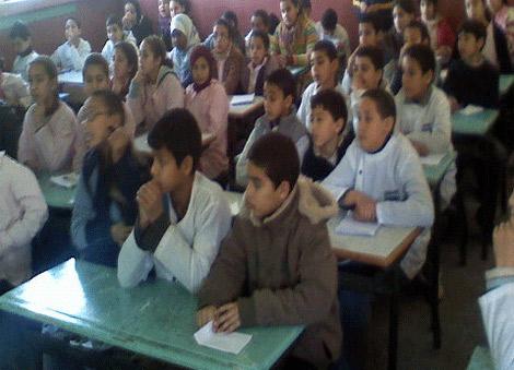 الاكتظاظ بأقسام التعليم العمومي ببرشيد ،، واقع مر للأساتذة والتلاميذ