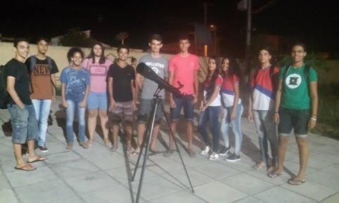 Escola Estadual Luiz Augusto A. de Menezes abre as portas  para aulas de astronomia em Delmiro Gouveia