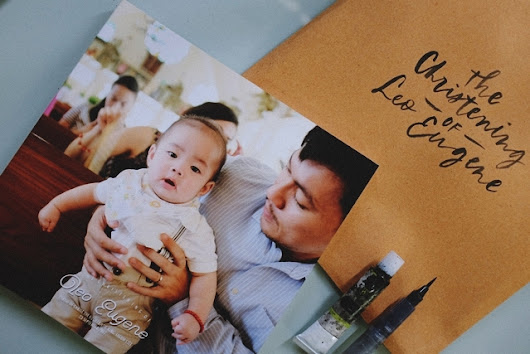 The Christening of Leo Eugene | {Photobook}