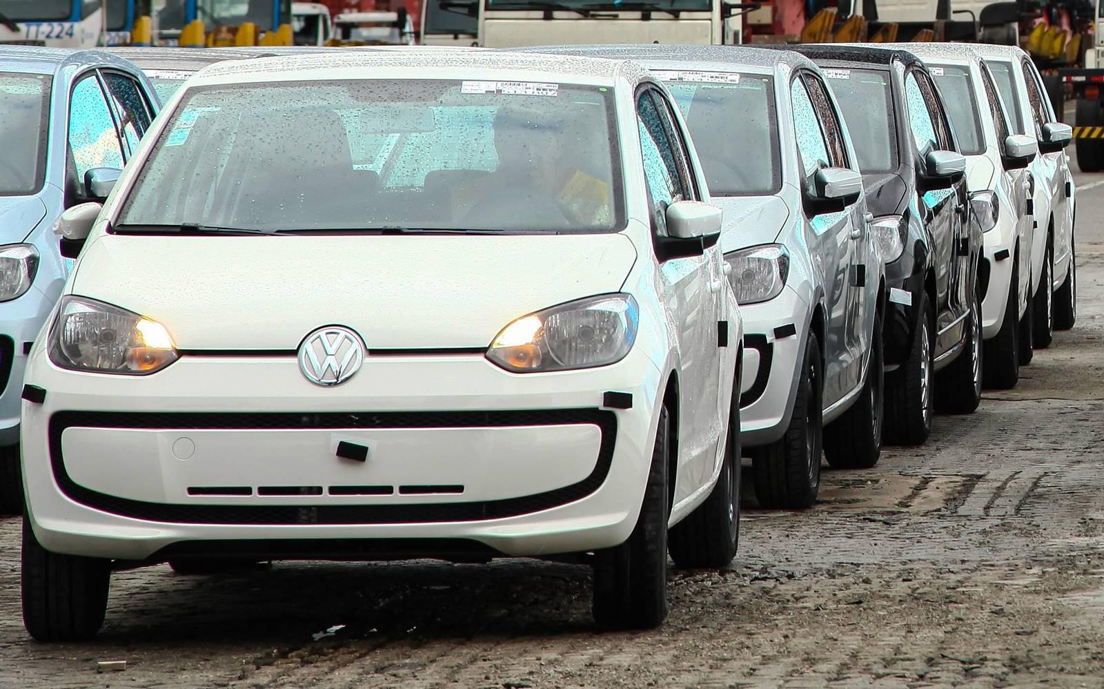 Volkswagen Up! Exportacao