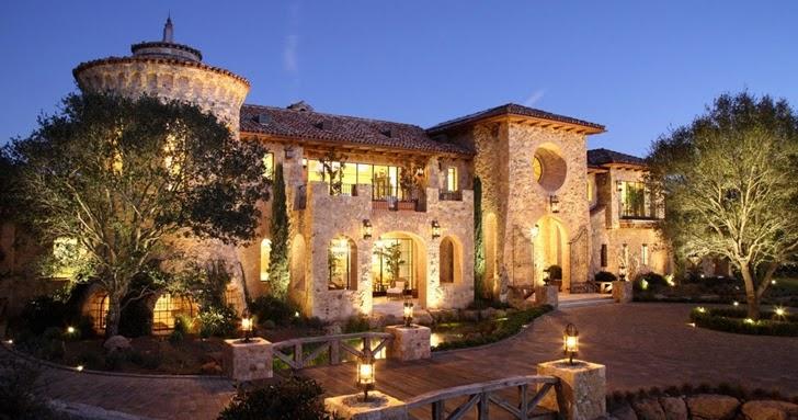 World Of Architecture A Fairy Tale Home Luxury Villa Del
