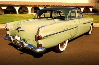 1951 Packard 300 Classic Sedan Rear Right