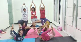 Tips latihan yoga memeperkecil paha