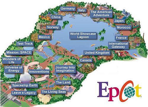 vacation rentalshaq homes.: epcot attractions - you