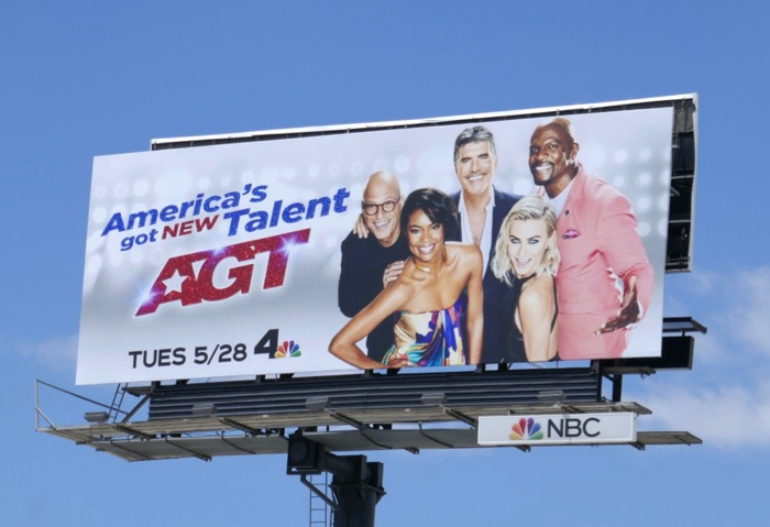 Americas Got New Talent season 14 billboard