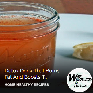 Detox Drink That Burns Fat And Boosts The Metabolism