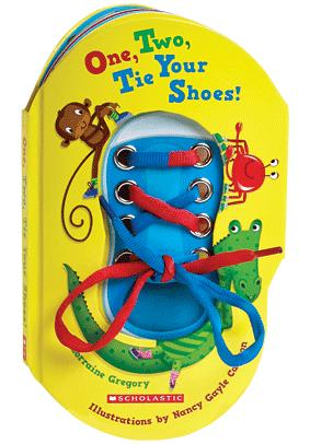 Learn to tie shoe laces book