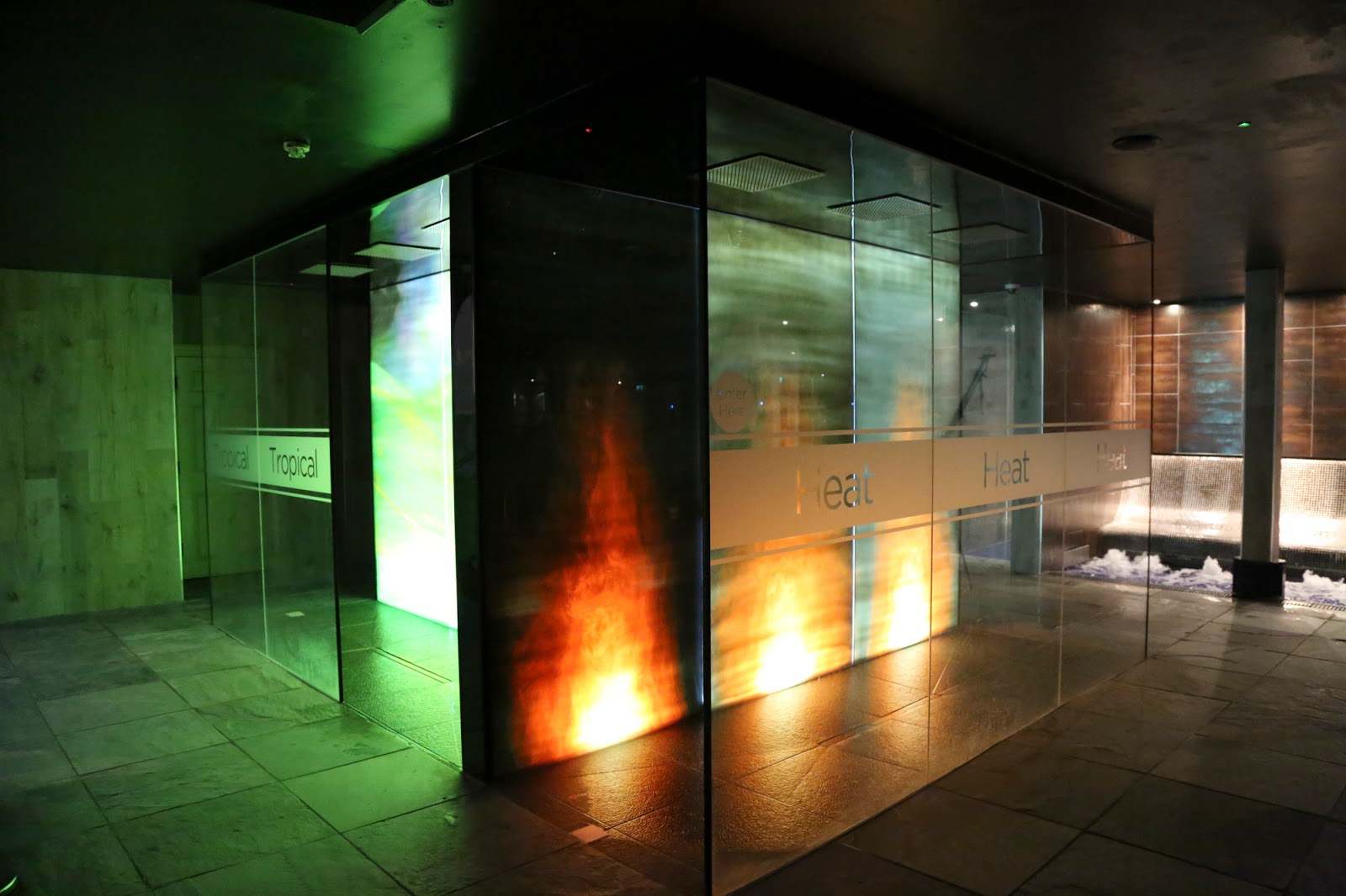 thermal suite showers