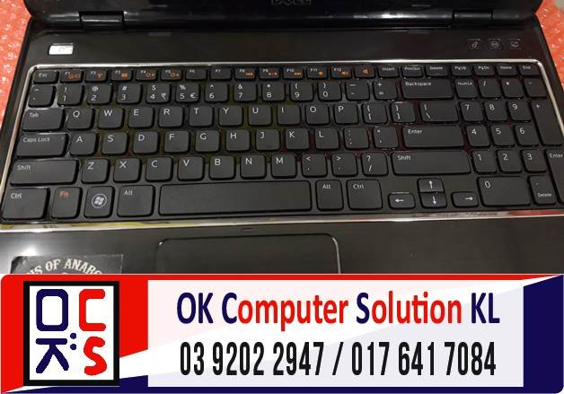 [SOLVED] MASALAH KEYBOARD DELL INSPIRON | REPAIR LAPTOP AMPANG 4