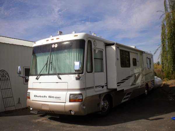 used rvs 2000 dutch star motorhome for sale for sale by owner. Black Bedroom Furniture Sets. Home Design Ideas