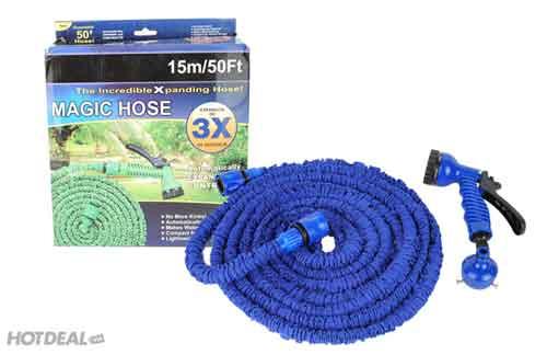 53k - Vòi phun nước thông minh giản nở Magic Hose 15m giá sỉ và lẻ rẻ nhất