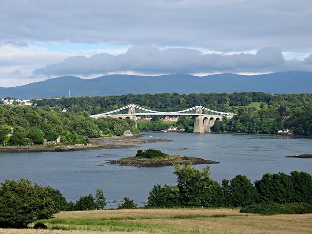 Britannia Bridge, Anglesey, Wales