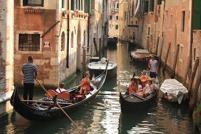 Small canal in Venezia