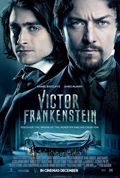 Poster of Victor Frankenstein 2015 720p English WEB-DL Full Movie Download