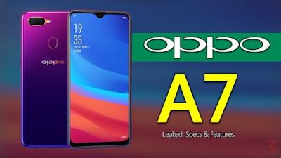 Fitur Dan Spesifikasi Smartphone Oppo A7