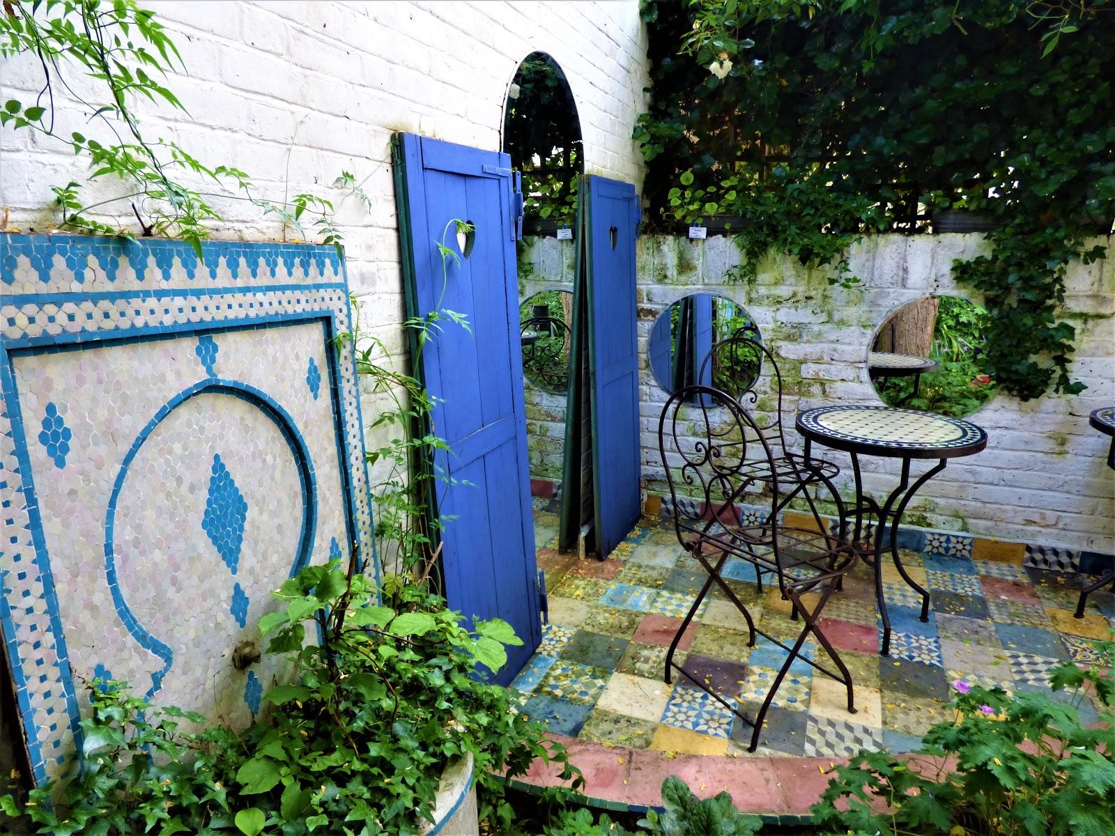 a secret moroccan garden hidden behind a london chocolate shop - Chocolate Garden