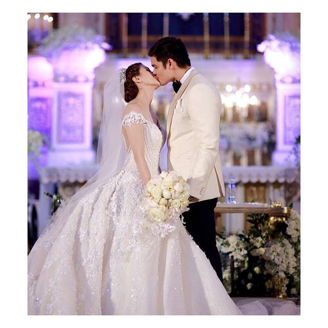 dongyan kiss wedding