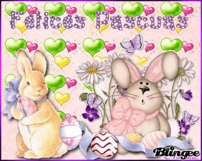 imágenes gratis de conejos de Pascua