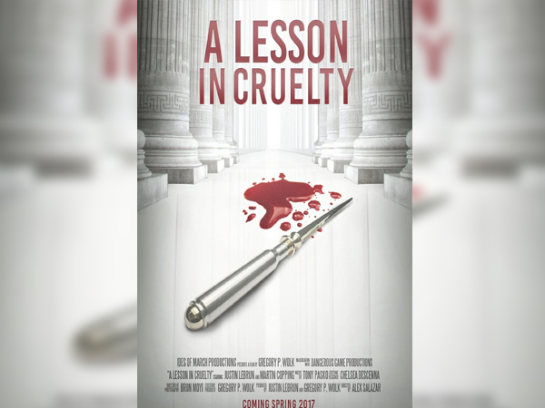 sinopsis, detail dan nonton trailer Film A Lesson in Cruelty (2017)