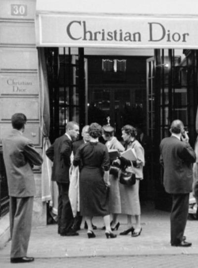 1950's  Christian Dior 30 rue Montaigne