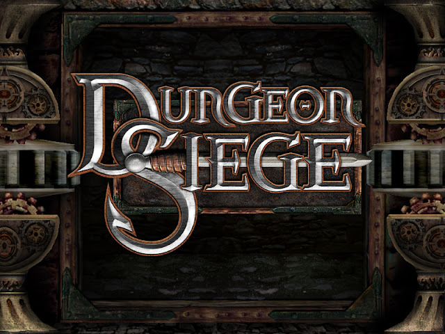 Dungeon Siege title screen