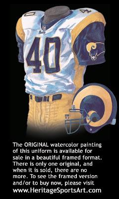 St. Louis Rams 2000 uniform