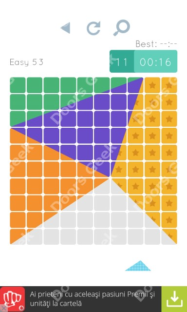Cheats, Walkthrough for Blocks and Shapes Level 53