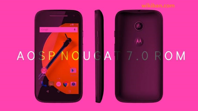 how to install android 7.0 nougat on moto e 2ng gen lte