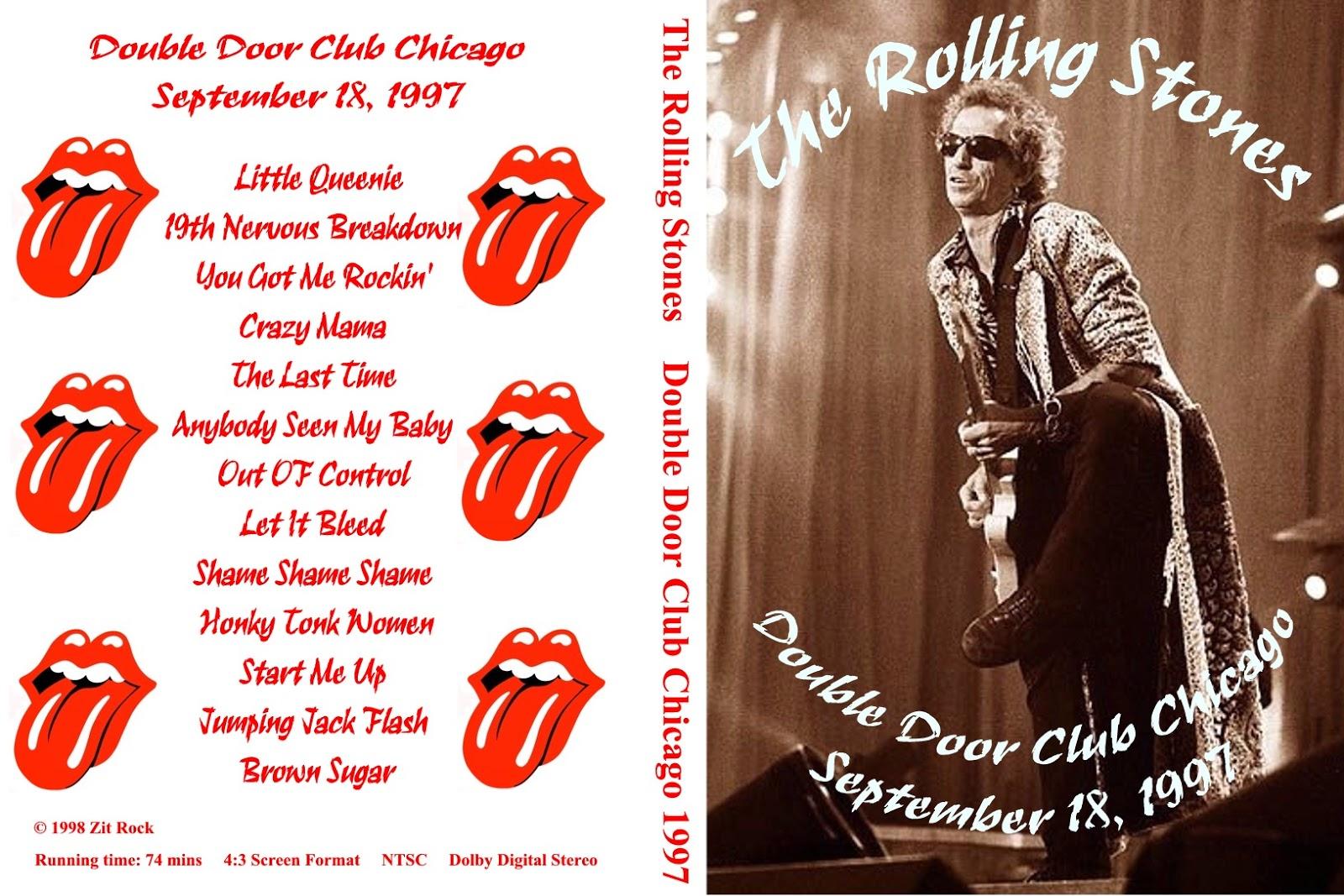 T U B E The Rolling Stones 1997 09 18 Chicago Il