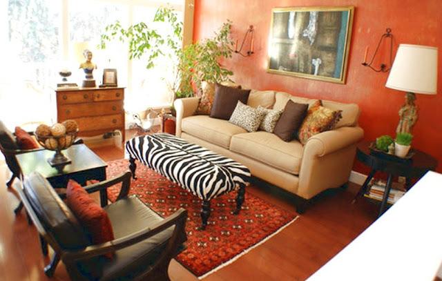 Desain Interior Ruang Tamu 3x3 Minimalis Sederhana