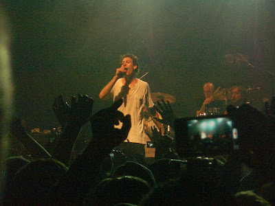 Matisyahu on stage at Terminal 5.