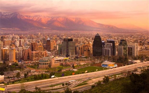 Verão no Chile