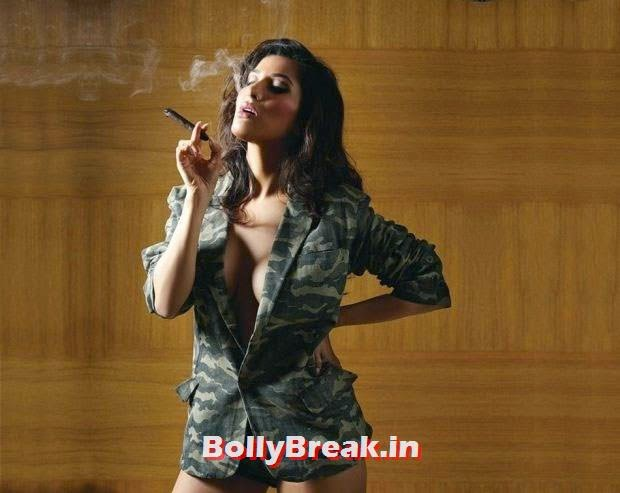 , Sophie Choudhary Hot Bedroom Pics in Nighty from Mandate Magazine