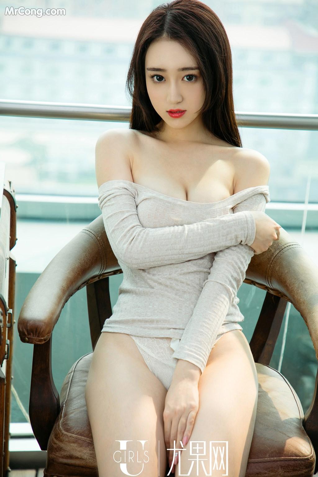 Image UGIRLS-U354-Li-Bao-Er-MrCong.com-007 in post UGIRLS U354: Người mẫu Li Bao Er (李宝儿) (66 ảnh)